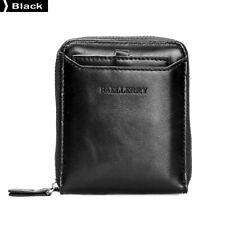 Baellerry Men Fashion Wallets Short PU Leather Male Wallet Black