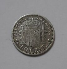 ESPAGNE ALFONSO XIII 50 CENTIMES 1900