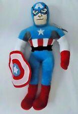 "24"" JUMBO Captain America Stuffed Plush Pillow Buddy With Shield"