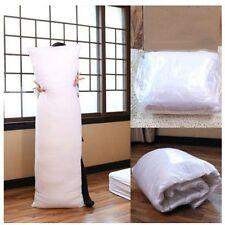 white 150x50cm Anime Dakimakura Hugging Body Pillow Inner Stuff PP Cotton