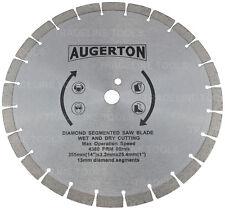 "14"" (350mm) Diamond Blade for Concrete Brick Tile Saws. Demo Demolition Cutting"