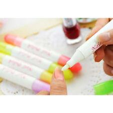 stylo correcteur dissolvant vernis ongle cleaner nail manucure avec 3 embouts