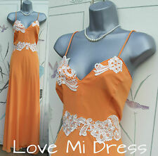 Myleen Klass - Stunning Lace Detail Floor Skimming Maxi Dress Sz 8 EU36