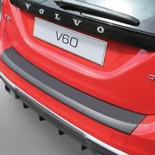 RGM Black Rear Bumper Guard For Volvo V60 Estate 2010 - 2014