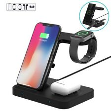 FDGAO Qi Wireless Charger for Apple iWatch 5 Airpods Pro iPhone 11 Samsung S10