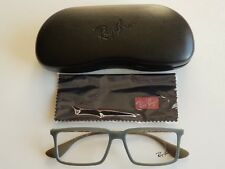 56cfddde32b Brand New RayBan Men s Classic Olive Green Square Prescription Eyeglass  Frames