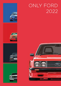 2022 A3 Calendar - ONLY FORDS - Retro Cars Pop Art - Limited Edition - RS XR