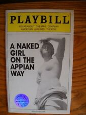 Matthew Morrison Playbill Naked Girl on the Appian Way Silver Seal Cover 2005