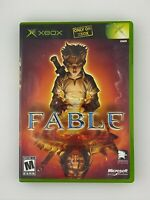 Fable - Original Xbox Game - Complete & Tested
