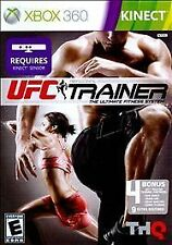 UFC Personal Trainer Video Games Xbox 360 Exercise Kinect Fitness Game NEW