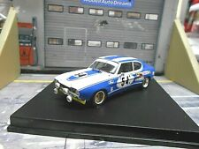 FORD Capri 2600 RS Racing 24h Le Mans 1972 #54 Birrel Bourgoignie Trofeu 1:43