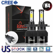 H4 9003 LED Headlight  High/Low Beam Kit Bulbs 1200W 180000LM Lamps 6000K US GG
