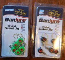 DanLure 1/4  Swivel Jigs (Lot of 2=Lime and Black-5/pk)