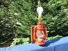 Vintage Dietz Ranch Craft Wall Mounted Electrical Lamp