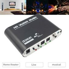 5.1CH digital to Amplifier Analog audio SPDIF Coaxial to RCA DTS AC3 decoderO.f'