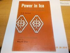 Power in Ica Structural History Peruvian Community By Hammel 1969 1st Ed 05o23