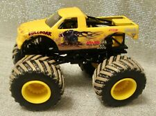 Hot Wheels Full Boar Monster Truck with Muddy Tires  1/64  Scale