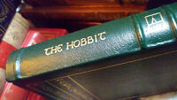 The Hobbit or There And Back Again - JRR Tolkien - 1984 Easton Press - Leather