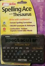 Franklin SPELLING ACE With Thesaurus SA-98