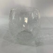 Etched Glass Votive Perfect For Wedding