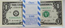 ONE (1) $1 2013 STAR* NOTE *K DALLAS* GREEN SEAL UNCIRCULATED FROM BRICK