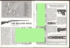 The BALLARD Rifle Exploded View..Parts List..Assembly Article**