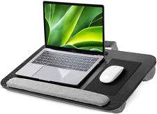 More details for huanuo lapdesk, laptop tray, lap desk with cushion, fits 15