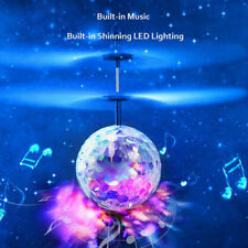 RC Flying Ball Drone Helicopter Ball Built-in Disco Music Shinning LED Aircraft