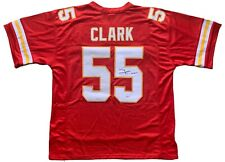 Frank Clark autographed signed jersey NFL Kansas City Chiefs PSA COA Michigan