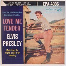 ELVIS PRESLEY: Love Me Tender EPA-4006 1S/1S USA Orig VG++ Super 45 EP