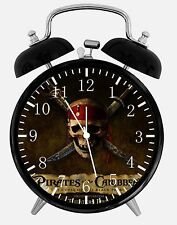 """Pirates of the Caribbean Alarm Desk Clock 3.75"""" Room Decor Y05 Nice For Gift"""