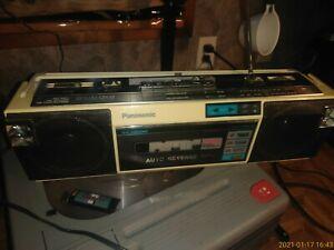 Panasonic Rx Fm16 Slim Boombox White