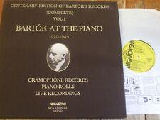 LPX 12326-33 Bartok at the Piano 1920 - 1945 8 LP box set