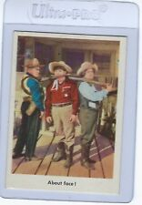1959 Fleer The 3 Stooges About Face! #41 Card White Back NM