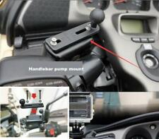 "1"" Ball Motorcycle Handlebar Cylinder Pump Cap Mount for Phone Camera Adjustable"