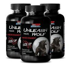 Maca Organic - Unleash Your Wolf 2170mg - Male Enhancers Ultimate Pills 3B