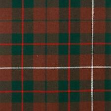 MacKinnon Hunting Modern Tartan Fabric 16oz 100% Pure Wool