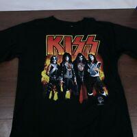 KISS Alive Worldwide 96 97 Tour TShirt XL 90s Vintage Rock 1996 Reunion EUC