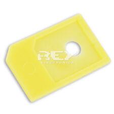 4x Adaptador de tarjeta Micro SIM a SIM para Teléfonos Móviles, Amarillo 4xr04
