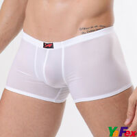 New Mens Sexy Boxer Briefs Trunks Shorts Comfort Underwear IN 4 color Size S M L