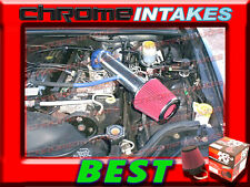 K&N+BLUE RED 1991-2004 JEEP CHEROKEE/GRAND 2.5 2.5L 4.0L AIR INTAKE INTAKE KIT 2