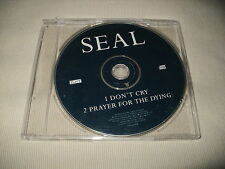SEAL - DON'T CRY / PRAYER FOR THE DYING - UK PROMO CD SINGLE