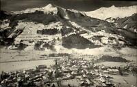 Bad Hofgastein Salzburger Land Postkarte 1961 gelaufen Gesamtansicht im Winter
