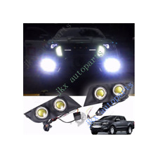 LED Fog Lamp Spot Light Kit for Ford Ranger T6 Facelift Px2 Mk2 2015 2016 2017