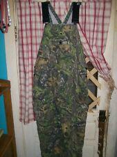 Men's Mossy Oak Field Staff camouflage bib overalls pants ,  38