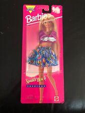 Barbie 1995 Sparkle Beach Fashions #68314-91 Cute skirt, top, sunglasses