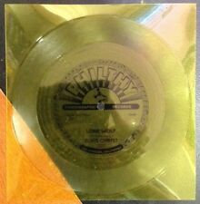 "Elvis Christ Lone Wolf 7""Sun Yellow Flexi"