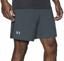 Under Armour Launch SW 7 Inch Mens Running Shorts - Grey