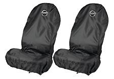 Nissan Resistente al Agua Negro Protectores de cubiertas de asiento de coche se ajusta Nissan Almera