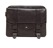 100% autentico in pelle PROENZA SCHOULER ps1 PS 1 CLUTCH BAG Custodia per iPad Nero